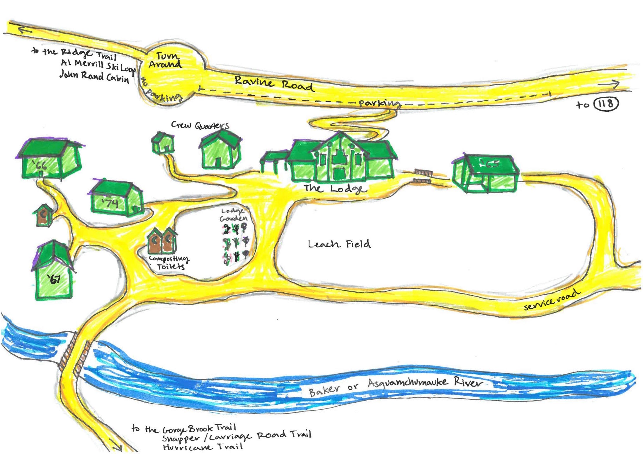 Lodge Campus Map